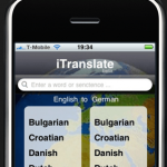 Language Translation On The iPhone With iTranslate App