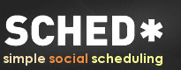 Sched.org Twitter Your Schedule