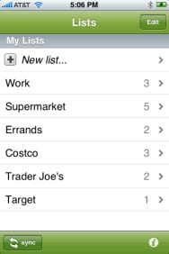 Zenbe Lists – Simple To-Do for Your iPhone
