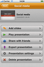 Keypoint – Make Presentations on Your iPhone or iPod Touch