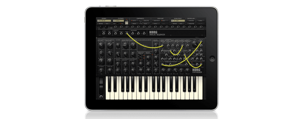 Korg on the iPad – iElectribe and iMS20