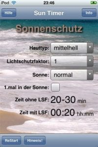 Sun Timer – Keep Yourself From Getting Burned