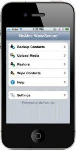 McAfee Launches iPhone Anti-Theft App