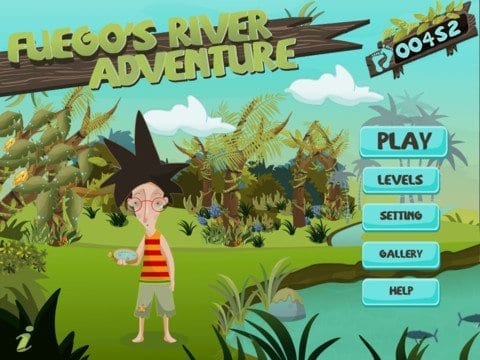 Fuego's River Adventure – First Ever Hands-Free iPad Game