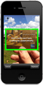 "Card.io Launches App That ""Sees"" Your Credit Card"