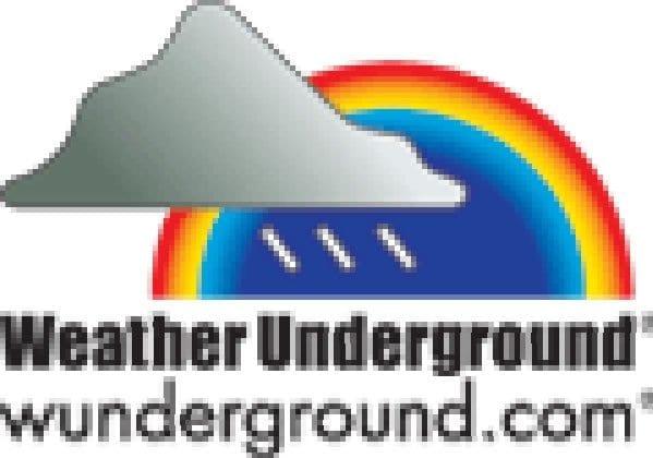 weather underground: