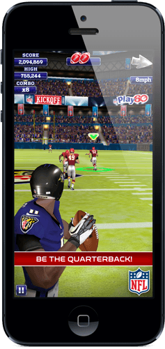 Be the Quarterback – iPhone game for the after-Bowl fix