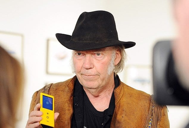Neil Young wants to sell you a Hi-Fi iPod